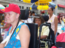 photo of People at the Americans with Disabilities Act parade