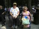 photo of Disabled In Action members Jean Ryan and Carr Massi