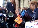 photo of Disabled In Action 2006 president Carr Massi speaking