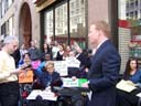 photo of lawyer Gavin Kearney explains the Disabled In Action-Duane Reade settlement